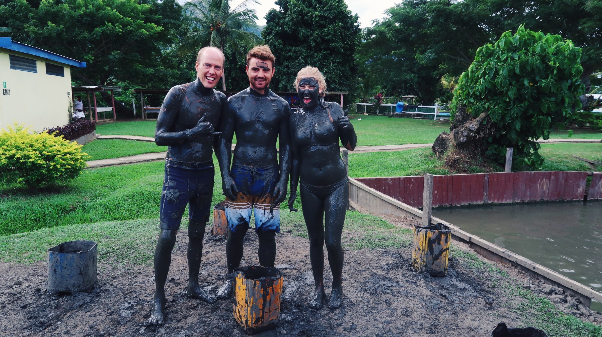 Sabeto mud pools